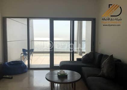 فلیٹ 2 غرفة نوم للبيع في جدة، المنطقة الغربية - شقة بإطلالات بانورامية على البحر الأحمر و كورنيش جدة