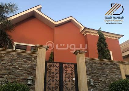فیلا 5 غرف نوم للايجار في جدة، المنطقة الغربية - فيلا فاخرة مع ملحق في ضاحية البساتين للايجار - شمال جدة