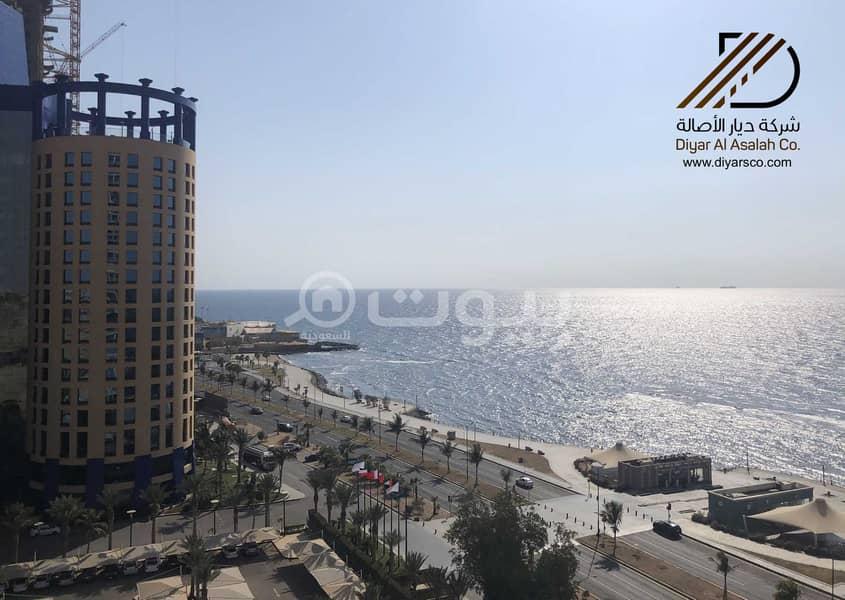 Panoramic Sea View Apartment In Al Cornish - Jeddah