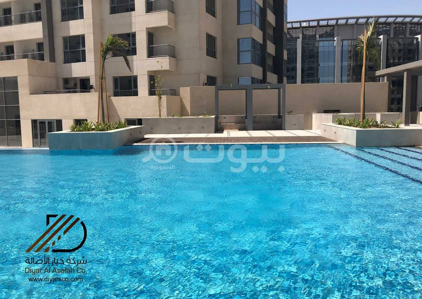 Modern Apartment with a pool for rent in Emaar Residence North Jeddah