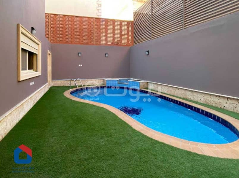 Duplex villa with large roof for rent in Al Khalidiyah, north of Jeddah