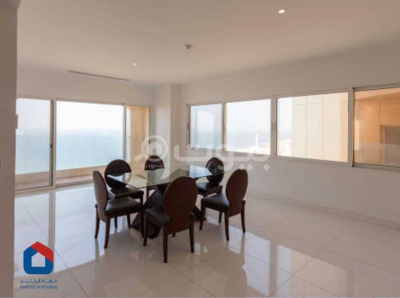 Apartment 200 SQM for rent in Al Shati, north of Jeddah