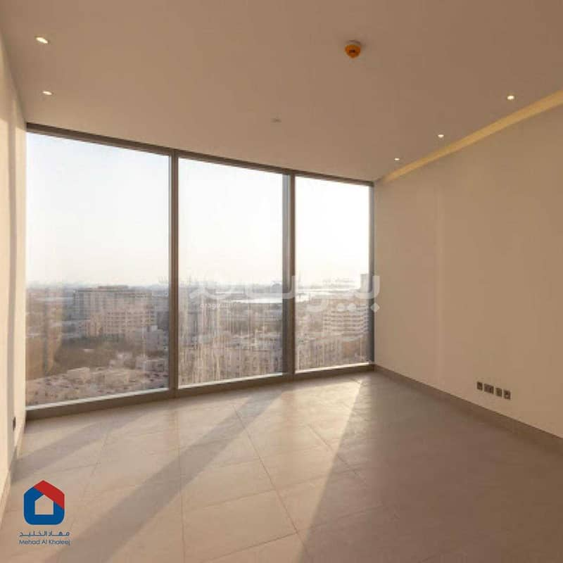 Apartment with parking and pool for rent in Bayat residential tower, Al Sharafeyah, North of Jeddah