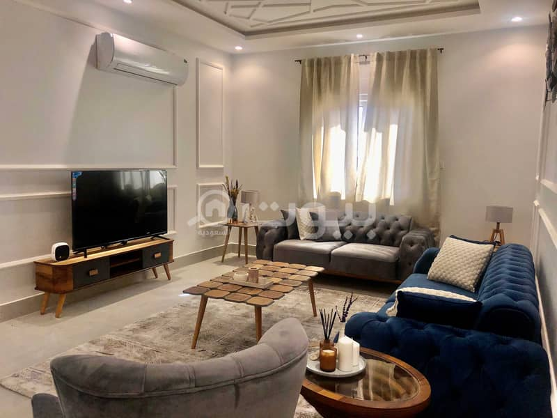 furnished apartment   156 SQM for sale in Al Yasmin, North of Riyadh