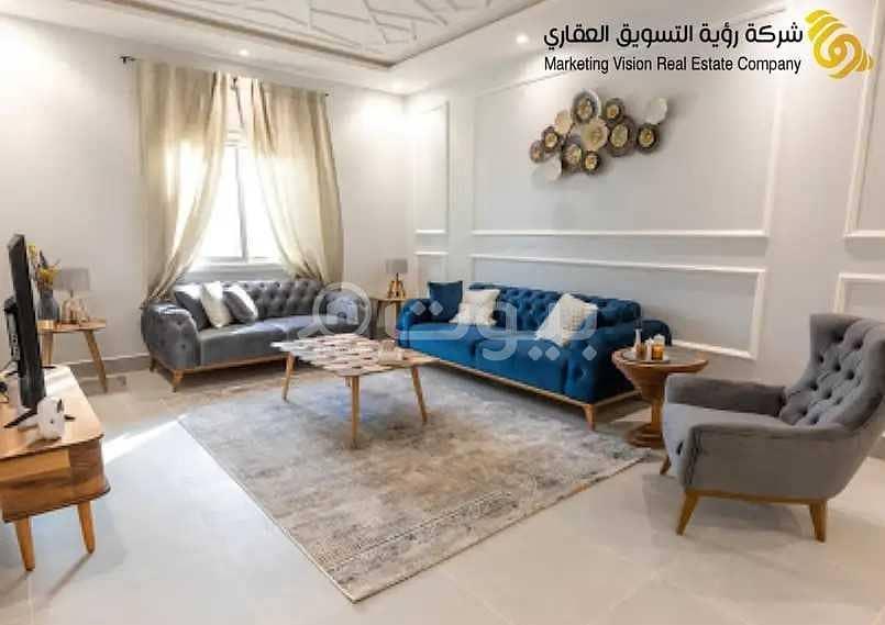Luxury apartments for sale in Hayat 28 project in Al Aqiq, North of Riyadh