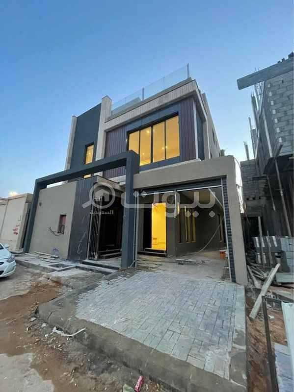 فيلا درج داخلي وشقة للبيع في شارع وثيلان حي اليرموك، شرق الرياض