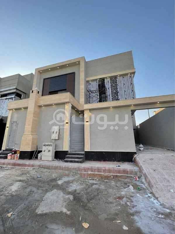 Villa for sale in Abdullah Al-Rajhi Street in Al Yarmuk district, east Riyadh