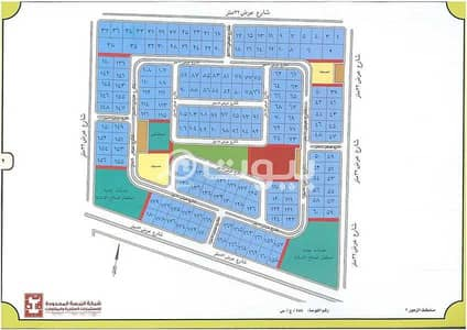 Residential Land for Sale in Jeddah, Western Region - Land for sale in Obhur Al Shamaliyah, Zuhoor Scheme, north of Jeddah