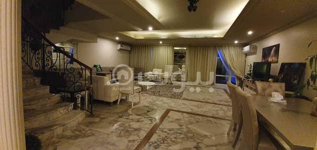 5 Bedroom Villa for Rent in Jeddah, Western Region - For rent a furnished villa with parking in Al Shati, North Jeddah