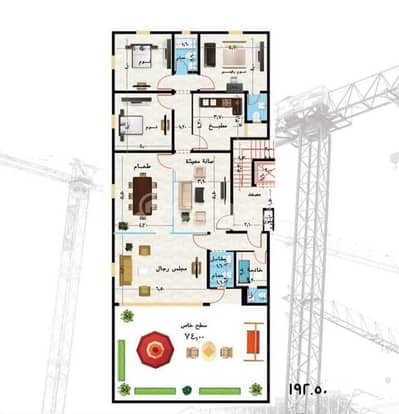 5 Bedroom Villa for Sale in Jeddah, Western Region - Villa For Sale In Al Zahraa District, north Jeddah