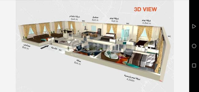 5 Bedroom Apartment for Sale in Jeddah, Western Region - New apartments for sale in Al Salamah, North Jeddah