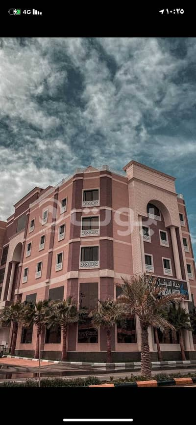 شقة فندقية  للبيع في القريات، منطقة الجوف - فندق   4 نجوم للبيع في الحميدية، القريات، شمال المملكة