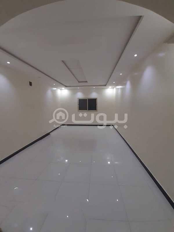Villa staircase Hall and roof for rent Al Rimal neighborhood, east Riyadh