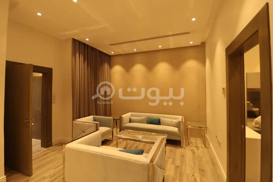 Luxuriously apartment   furnished for rent in Al Ghadir, North of Riyadh