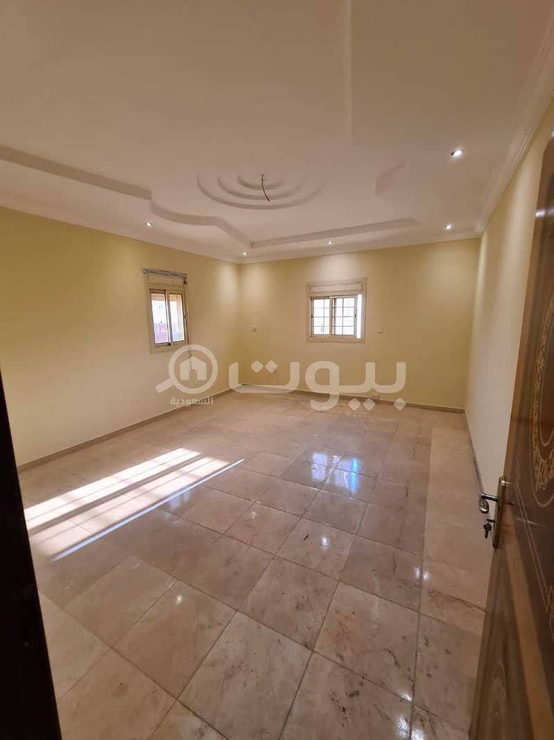 Villa for sale in Taiba District, north of Jeddah | 2 roofs and an annex