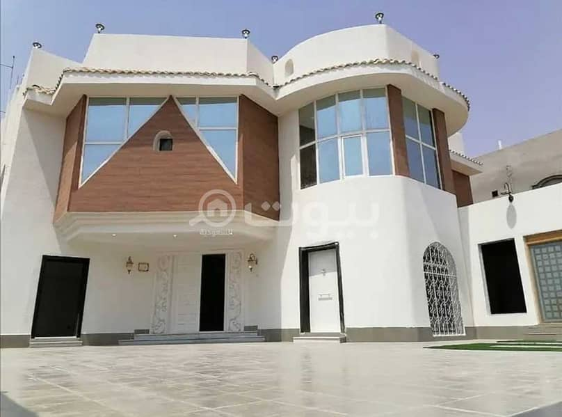 Villa And Two Apartments Custom Build For Sale In Taiba District, North Jeddah