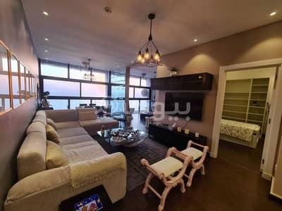 فلیٹ 2 غرفة نوم للبيع في جدة، المنطقة الغربية - شقة مفروشة للبيع مطلة على البحر في الشاطئ، شمال جدة