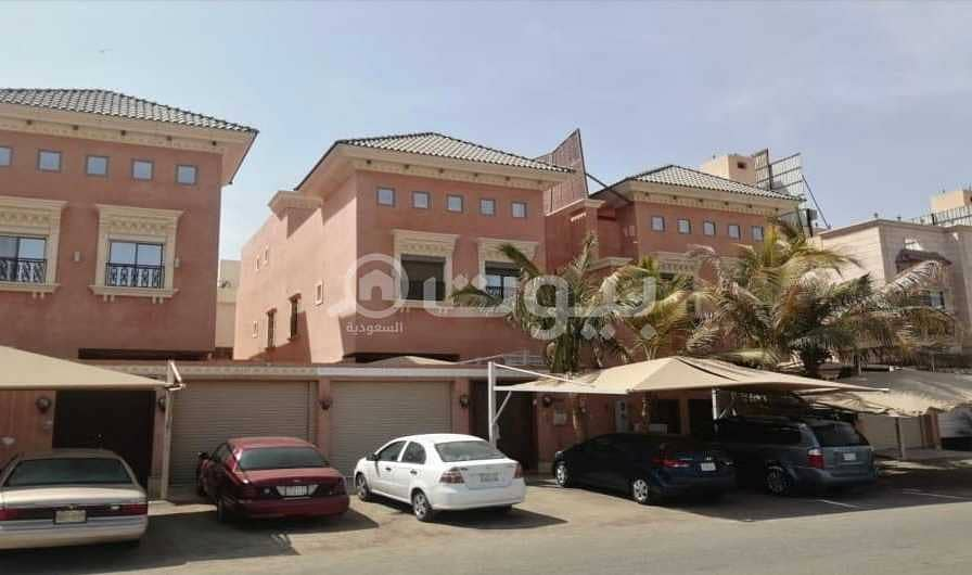 duplex villa with a pool for sale in Taiba District, North of Jeddah