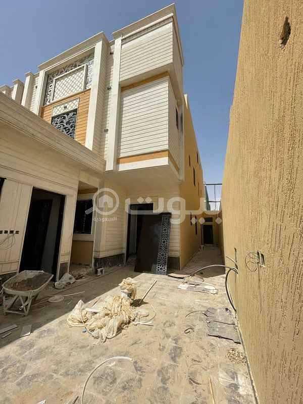 Villa for sale in Ahmed Bin Al Khattab Street Tuwaiq District, west of Riyadh