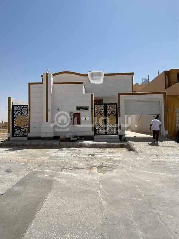 Villa for sale in  Al Mahdiyah district, west of Riyadh