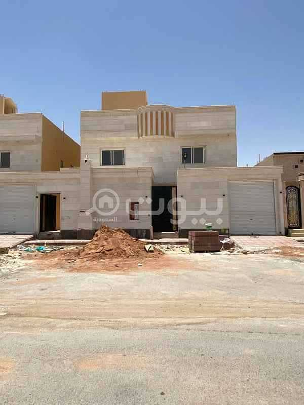 Villa staircase hall for sale in Al Mahdiyah, West Riyadh