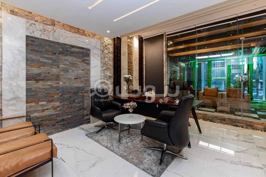 مكاتب مجهزة للإيجار في العليا، شمال الرياض