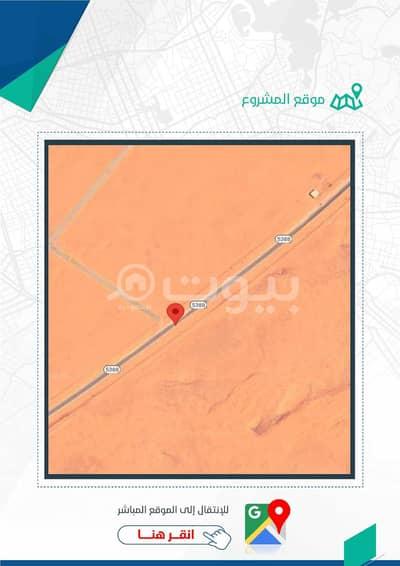 ارض تجارية  للايجار في المزاحمية، منطقة الرياض - أرض تجارية للإيجار في الجافورة، الرياض