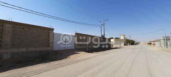 ارض تجارية  للبيع في الخرج، منطقة الرياض - أرض مسورة 5000م2 للبيع في العفجة، مخطط نجدية