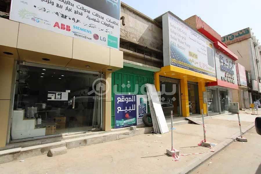 للبيع محلين بحي الغرابي، العمل وسط الرياض