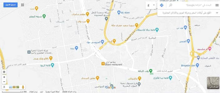 Commercial Land for Rent in Makkah, Western Region - Commercial land for rent in Al Khalidiyah, Makkah