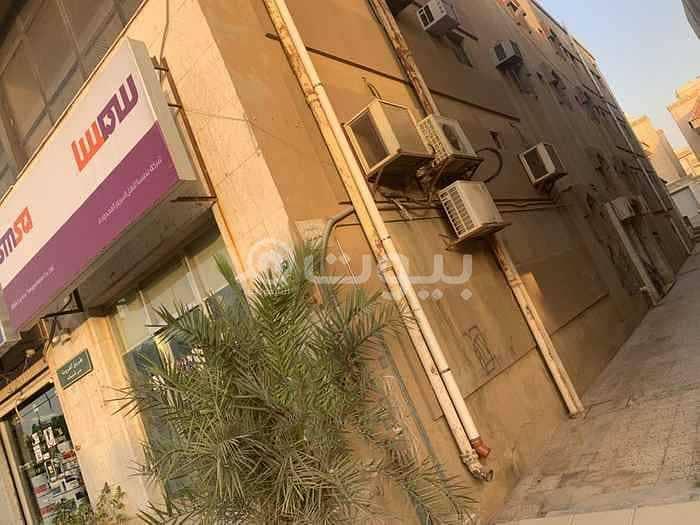 عمارة سكنية للايجار في السليمانية، شمال الرياض