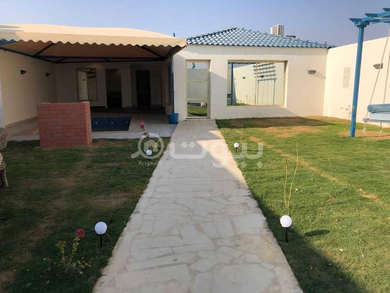 شاليه للإيجار في القيروان، شمال الرياض