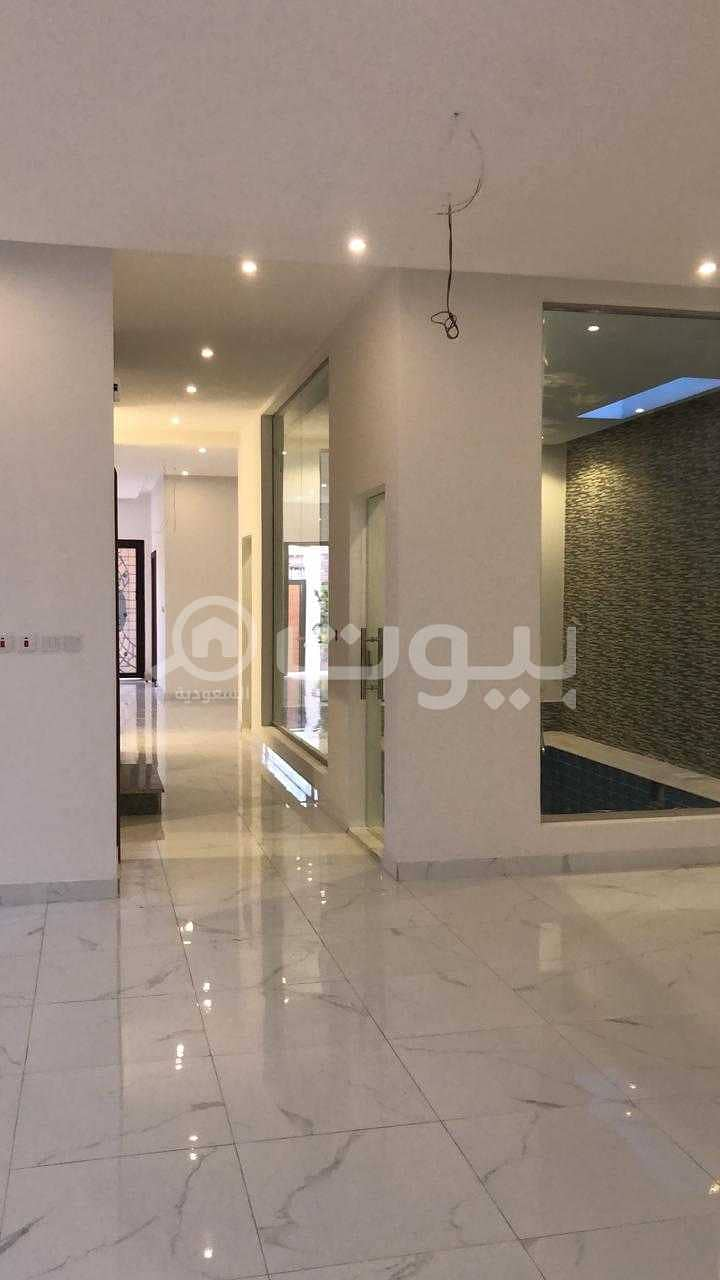 Modern detached villas with swimming pool for sale in Al Sheraa, North Jeddah