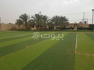 Rest House for Sale in Al Muzahimiyah, Riyadh Region - Distinctive istiraha with a pool for sale in Industrial Area, Al Muzahimiyah