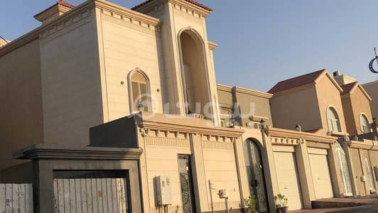 6 Bedroom Villa for Sale in Dhahran, Eastern Region - Villa with a pool and stairs in the hall for sale in Al Qusur, Dhahran