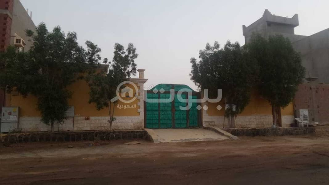 istiraha with a park and pool | 475 SQM for sale in Al Sawari North of Jeddah