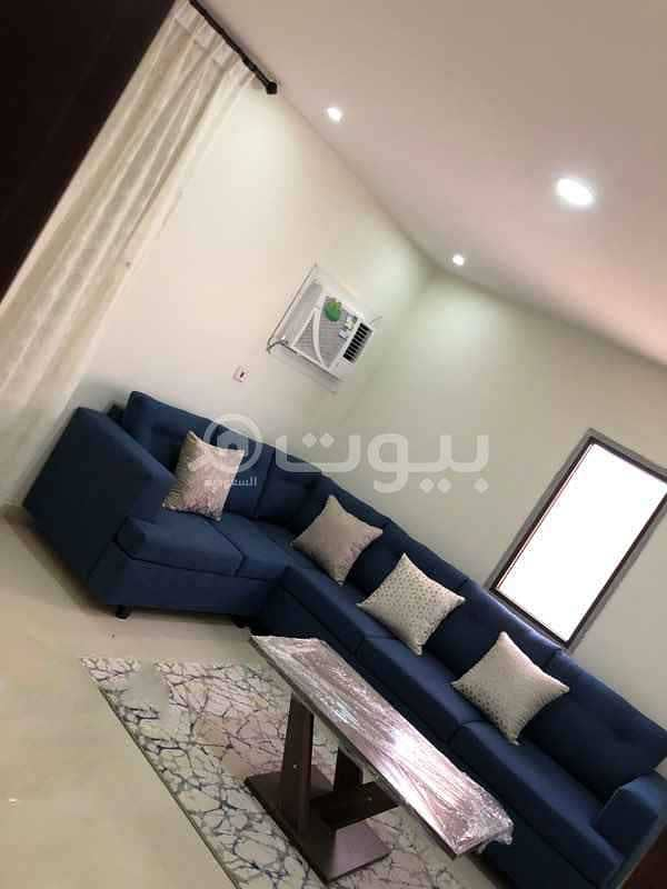 furnished apartment for rent on Electricity Street in King Faisal, east of Riyadh
