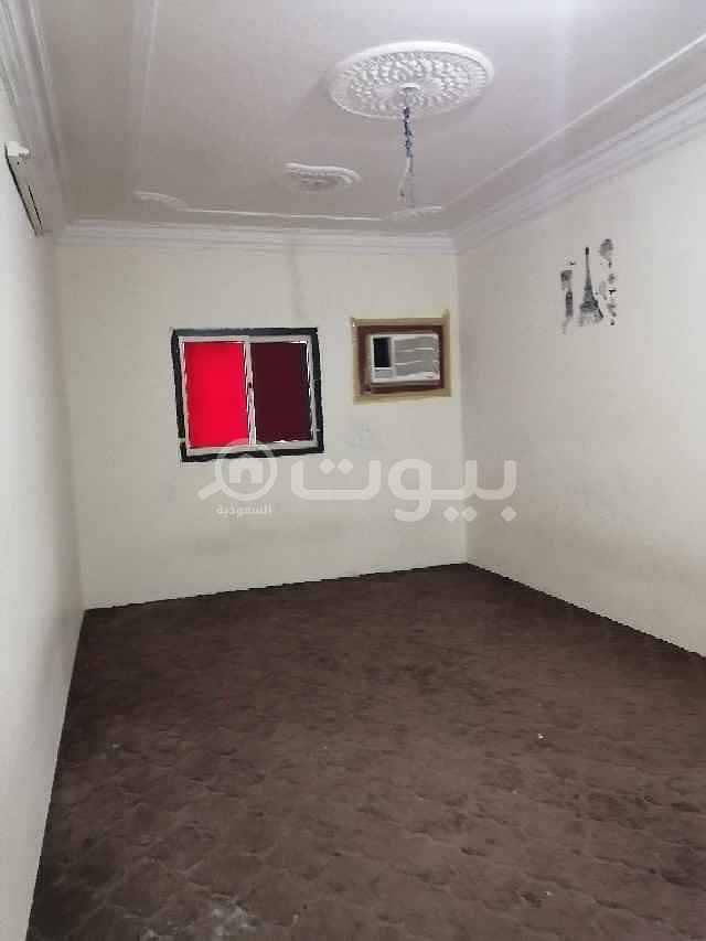 First-floor singles apartment for rent in Al Nahdah, east of Riyadh