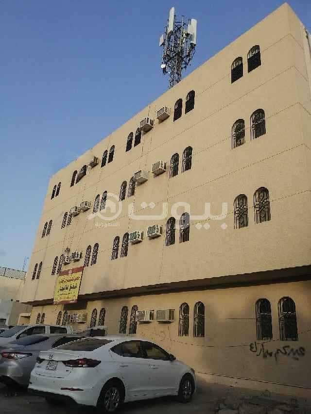 Second-floor singles  apartment for rent in Al Nahdah, east of Riyadh