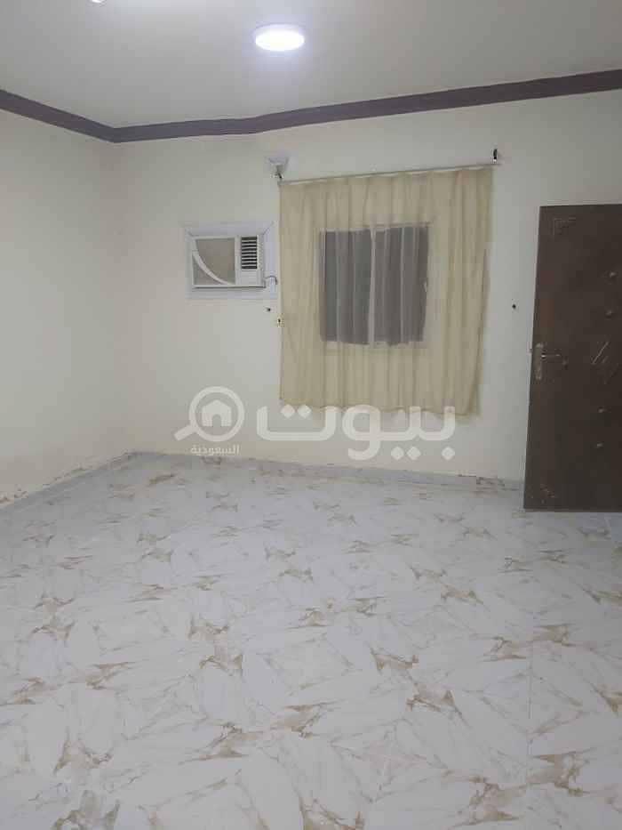 Singles apartment for rent in Al Khaleej, east of Riyadh