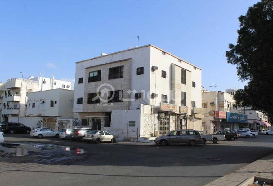 عمارة تجارية سكنية للبيع بحي العزيزية، شمال جدة