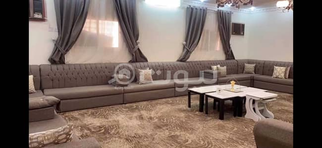 8 Bedroom Floor for Sale in Bishah, Aseer Region - Fully Furnished Floor and annex with park for sale in Al Hamima Scheme, Bishah