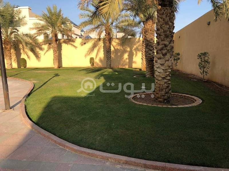 قصر للبيع في حطين، شمال الرياض