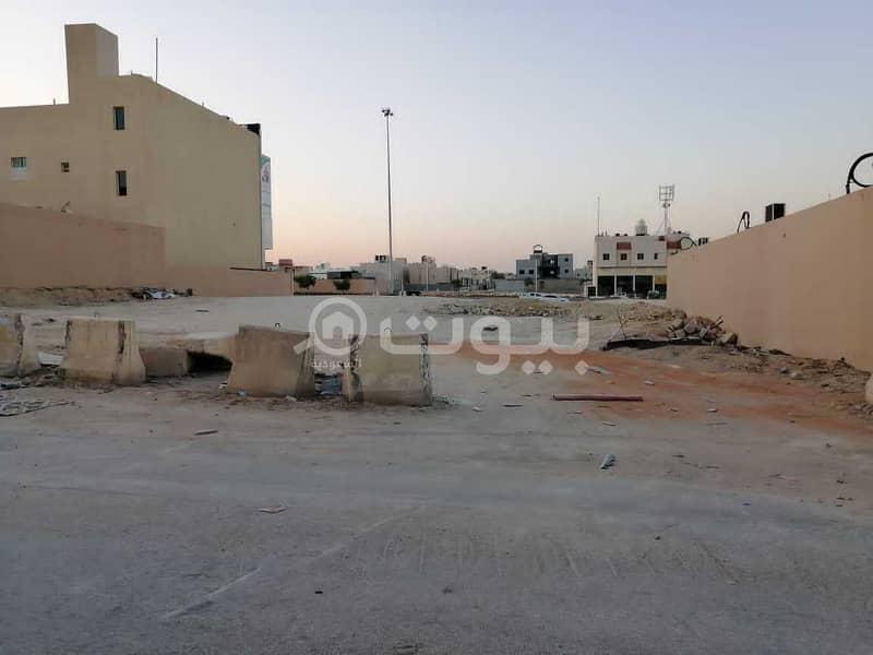 Commercial land for sale in Al Malqa on King Salman Road, north of Riyadh