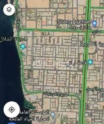 Residential Land for Sale in Jeddah, Western Region - For Sale Residential Land In Al Shati, North Jeddah
