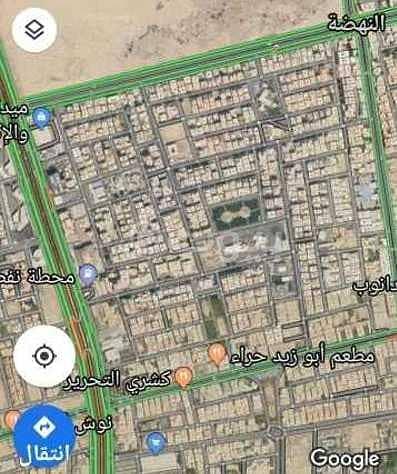 أرض للبيع في النهضة، شمال جدة   696 م2