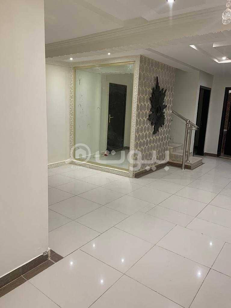 For sale a luxurious two-Floor apartment in Al Yasmin, north of Riyadh