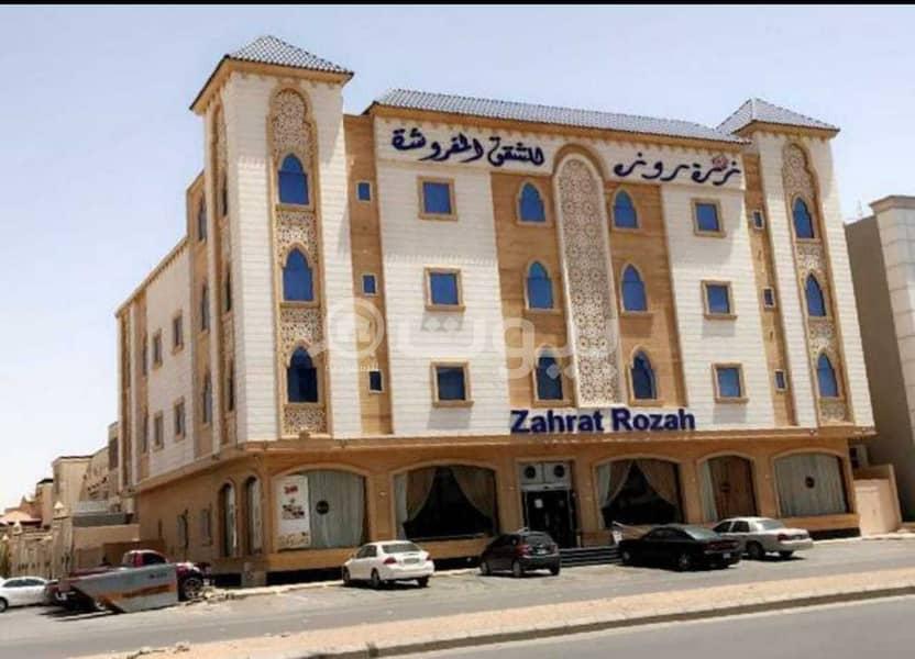 عمارة شقق فندقية مفروسة للبيع باليرموك، شرق الرياض