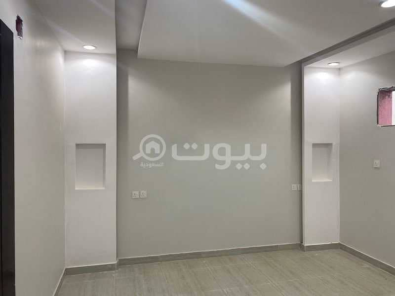 Upper floor apartment for rent in Dhahrat Laban, west of Riyadh