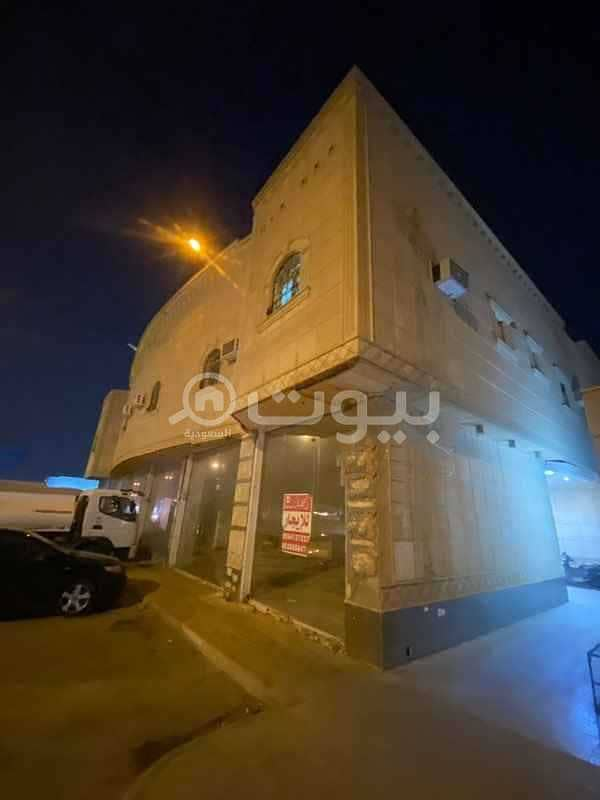 Commercial Shop | 6 Slots for rent in Dhahrat Laban, West of Riyadh